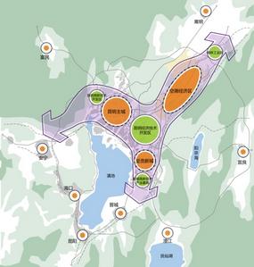昆明国际空港城发展战略研究及概念性城市设计