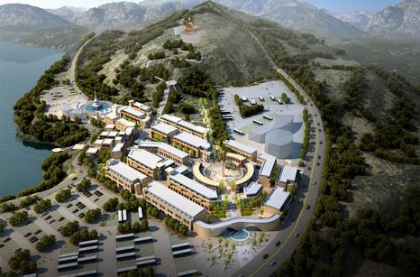 塔尔寺大景区旅游总体规划,塔尔寺景区游客中心片区