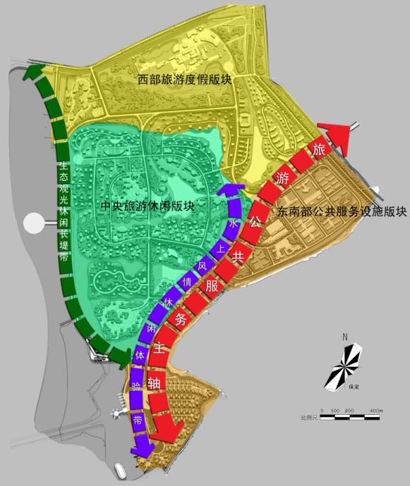 白洋淀温泉城旅游度假区一期开发区块控制性详细规划
