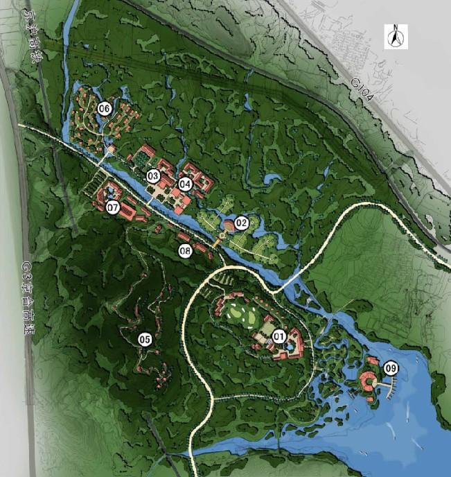 泰山风景区设计现状