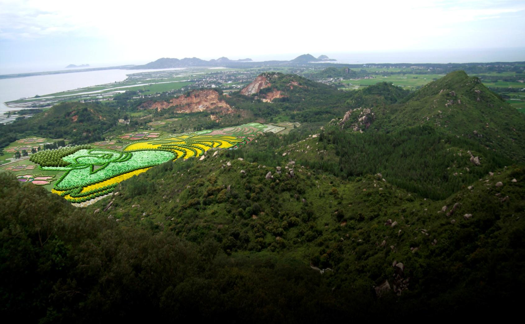 海南万宁东山岭生态文化旅游区开发咨询与概念性城市设计