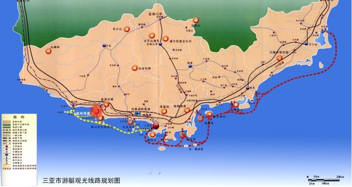 三亚海上游乐项目崖州湾基地概念性规划