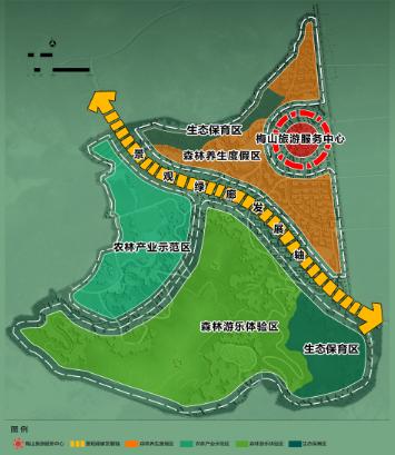 海南省梅山地图
