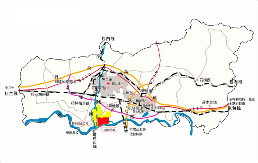 内蒙古包头九原黄河湿地旅游区概念性规划 全域旅游规划 第2张