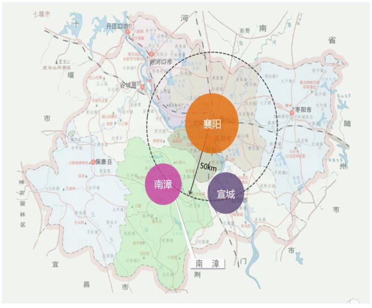 湖北南漳香水河风景区概念性总体规划