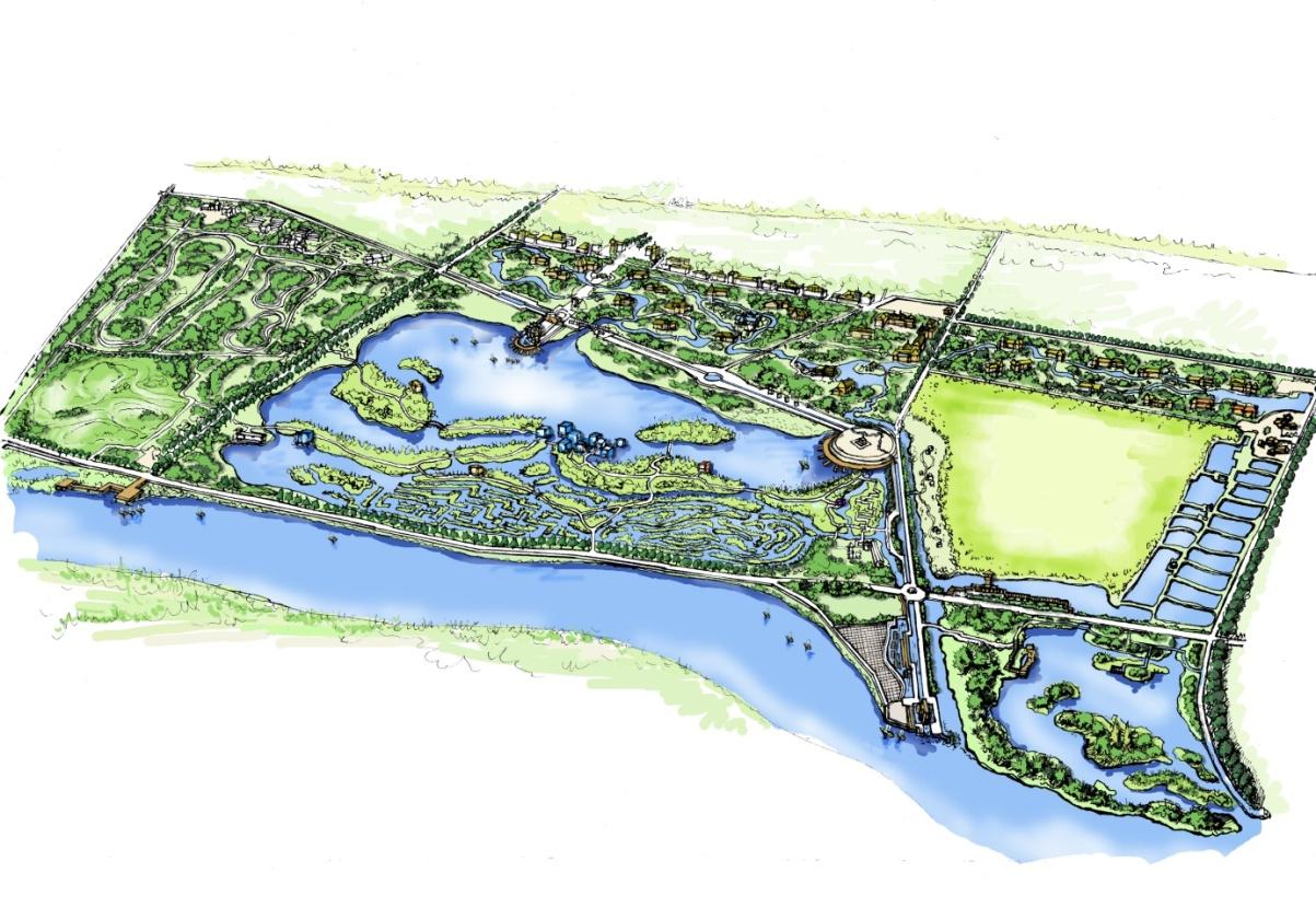 内蒙古包头九原黄河湿地旅游区概念性规划