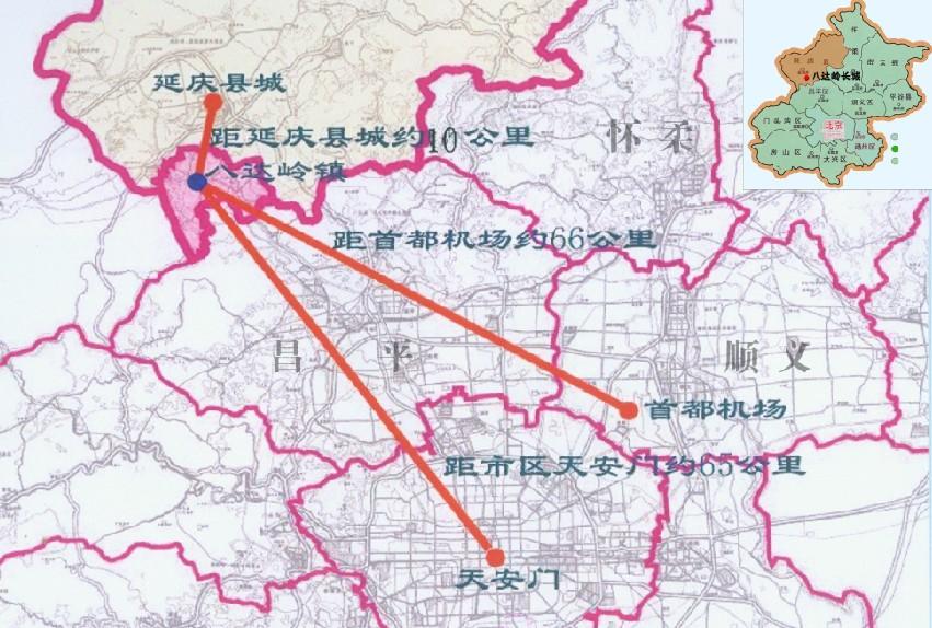 八达岭长城大景区规划设计概念方案