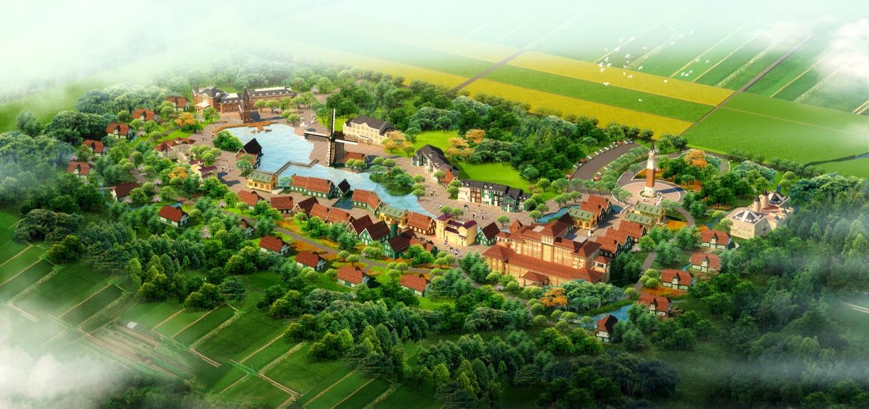 山东省国际生态农场概念设计