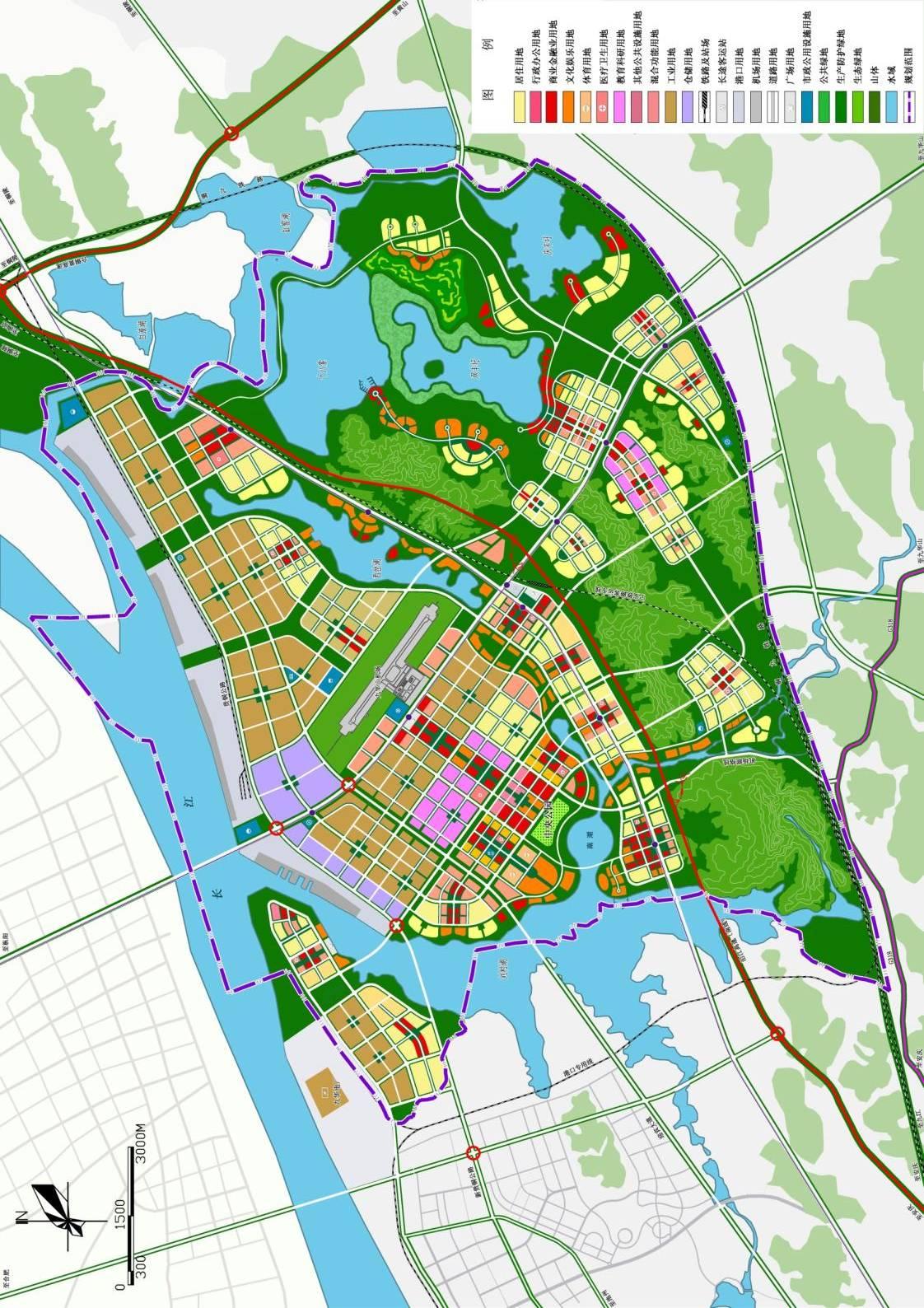 项目类型:总体发展概念规划及重点地段城市设计 规划成效:竞赛第二名