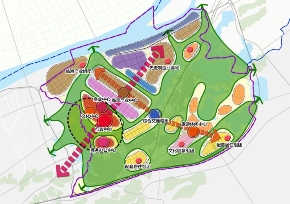 江南产业集中区总体概念规划暨重点片区城市设计
