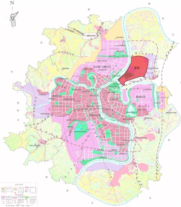 衡阳市区地图高清版