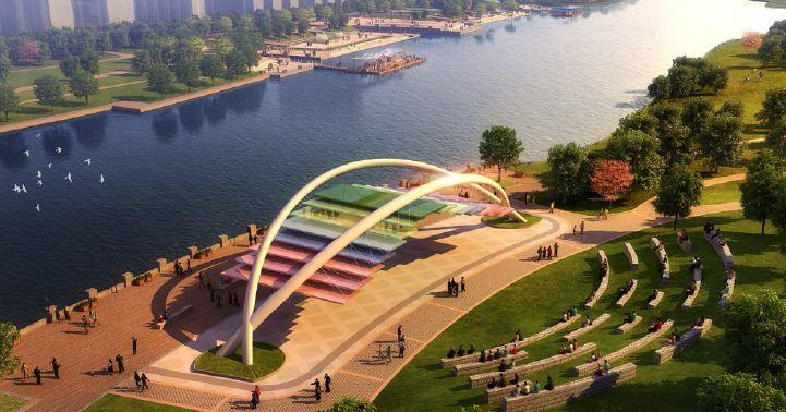 内蒙古呼和浩特敕勒川公园景观设计