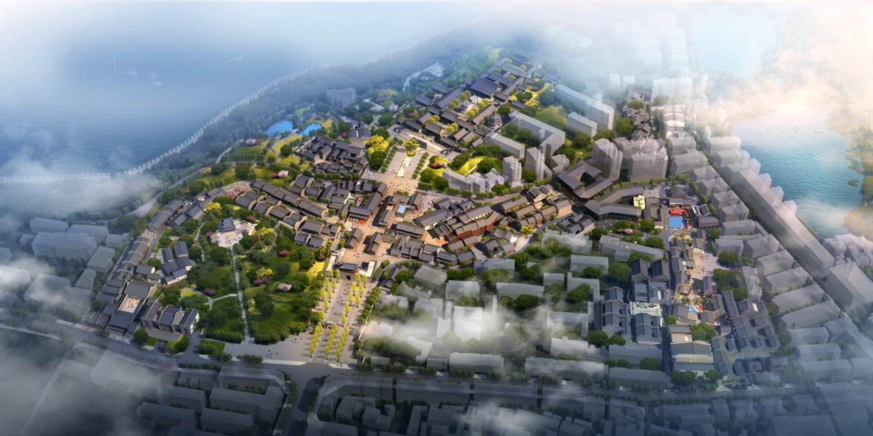 肩负起了历史文化传承,街区风貌恢复和城市文化旅游的历史使命,通过