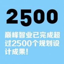 巅峰智业已经完成超过2500个规划设计成果