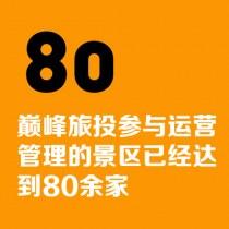 巔峰旅游參與運營管理的景區已經達到80余家
