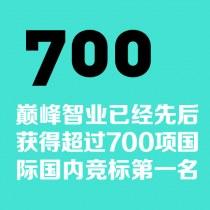 巔峰智業已經先后獲得超過700項國際國內競標第一名