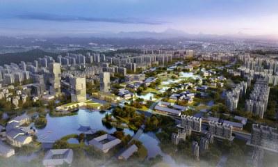 荆门市南城区概念性城市设计